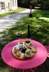 Dejeuner à Brousses et Villaret